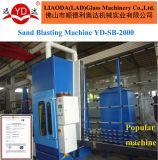 Van het Merk van het Populaire yard Glas die van het Product Machine zandstralen