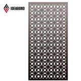 Grille Ideabond CNC aluminium panneau composite de l'écran