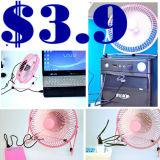 Ventilateur de refroidissement par air USB Super Mini-ordinateur portable portable Cartoon Desk cadeau Table promotionnel