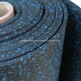Pista respetuosa del medio ambiente de la arpillera de la rueda de ardilla de la gimnasia de la estera de la protección del suelo del fabricante-suministrador