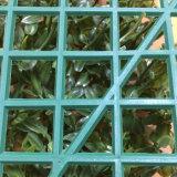 Искусственные цветы листьев растений зеленые стены вертикальный сад для домашнего офиса магазин ресторан ландшафт декоративный дизайн
