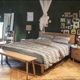 Antique / Modern Oak Bedroom Conjunto de quarto de madeira maciça