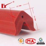 Hitzebeständiger Gumminetzkabel-Silikon-Profildichtung-Streifen