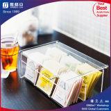 Sacchetto di caffè difettoso del tè del plexiglass Storagw con il coperchio