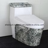 陶磁器の洗面所の石造りの質の普及した様式(A-009S)のワンピースの洗面所カラーWC