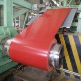 Bobina de acero galvanizada material de acero en frío para la hoja de acero