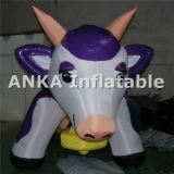 Aufblasbare Milch-Kuhanime-Abbildung Produkt-Reklameanzeige