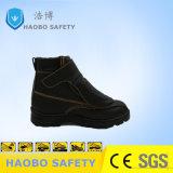 Настраиваемые PU защитная обувь из натуральной кожи черного цвета ЭБУ системы впрыска