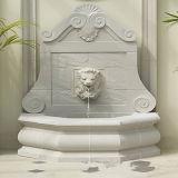 Fontaine murale de sculpture de lion d'animaux