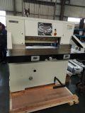 Complètement hydraulique Contrôle du programme de Machine de découpe de papier (68E)