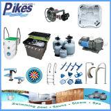 Sopra il filtro dal raggruppamento/strumentazione a terra della piscina