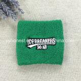 Fournisseur professionnel broderie logo coton Bandeau absorbant de sport