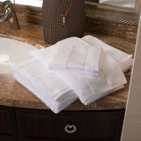 Белый 100% хлопок отель ванной полотенца