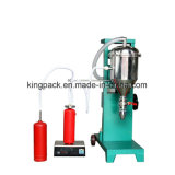 Máquina de rellenar del polvo seco para el extinguidor