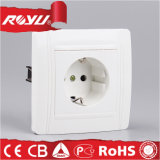 16A di tipo europeo Water Proof Schuko Wall Socket con Cover