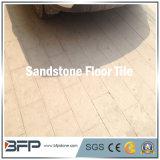 Arenaria beige di pietra naturale delle mattonelle di pavimento per il disegno interno e la parete della pavimentazione della parte esterna