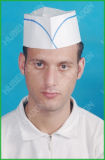 Cheap all'ingrosso Eco-Friendly Forage Hat per Chef con Blue Printing