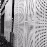 Triangle perforé feuille en aluminium, l'aluminium pour la construction de la façade de placage