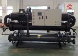 Wasser-Luft abgekühlter Schrauben-Wasser-Kühler für industrielles