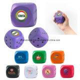 Dados promocionais PU Stress Balls Stress Toys Stress Rollers