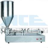 Líquido de neumáticos semi-automático/pegar/cosméticos Alimentos Máquina de Llenado, Aceite esencial de la máquina de llenado