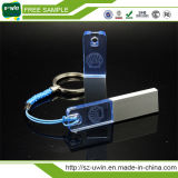 주문을 받아서 만들어진 로고 수용 가능한 아크릴 USB 저속한 펜 드라이브