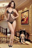 Lady Sexy Fishnet Teddy with Bikini Design 8954