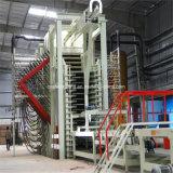 Cadena de producción del tablero de madera aglomerada, afeitando la cadena de producción de la tarjeta, maquinaria de carpintería, conglomerado, cadena de producción