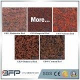 Гранит плитки настила каменный для пользы красного цвета популярной в Countertop пола/стены/лестницы/кухни ванной комнаты