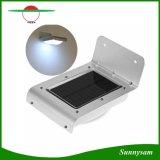 Super helles Wand-Licht der Sonnenenergie-wasserdichtes Wand-Lampen-16 LED leuchten Garten-Yard-Lampen-drahtloses Solarbewegungs-Fühler-Licht