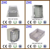 300 * 200 * 170 Weather Protected IP66 Plastic Junction Box com tampa clara