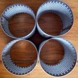 SS316 vier überlagerte Maschendraht-gesinterten Wert-Filterröhre-Zylinder