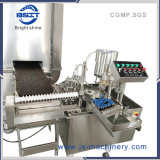 시럽 경구 액체 약제 기계장치 충전물 및 밀봉 기계