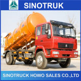 Populärer Sinotruk HOWO 4*2 Becken-Abwasser-Absaugung-Tanker-LKW
