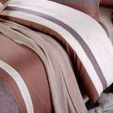 Gedrucktes Baumwollpatchwork-Artduvet-Deckel-gesetztes Bett-Blatt-Set