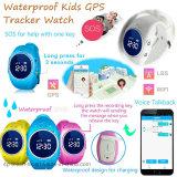 La résistance à l'eau badine la montre de traqueur de GPS avec la position de livres de WiFi (D11)