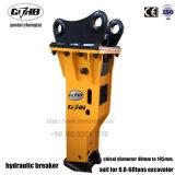 Interruttore idraulico della roccia per il caricatore dell'escavatore a cucchiaia rovescia del Jcb 3cx 3CB 4cx