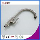 Fyeerのガチョウの首の冷たいタイプステンレス鋼の台所の流しの蛇口