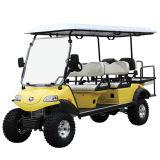 전기 들린 차 또는 손수레 또는 2 륜 마차 의 관광 차, 실용 차량 (DEL2042D2Z 빨강, 6-Seater)