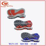 EVA Suela de goma Material de sandalias para la fabricación de calzado