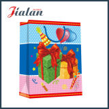 Sac de vêtements de papier bon marché estampé fait sur commande de logo de modèle d'anniversaire de vacances