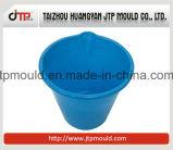 円形のプラスチック水バケツ型の光沢度の高い