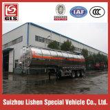 アルミニウムAlloy Crude Oil Semi Tariler 40000L Tri Axles Fuel Tanker Trailer