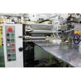Alimentación automática del papel de la caja rígida, pegando y máquina de colocación (YX-6418C)