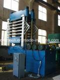 EVA-schäumende vulkanisierenpresse-Maschine mit Spalte vier für die Herstellung des EVA-Blattes/der Gummischuh-Sohle