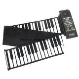 88 het zeer belangrijke Elektronische Flexibele Broodje van het Silicium van het Toetsenbord van de Piano op Piano met Luide Spreker wenst ons Stop