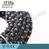 O fio do diamante do JDK viu para o bloco da pedreira do granito
