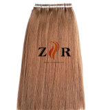 De bruine Band Kleur pre-In entrepot van de Uitbreiding Pu van het Menselijke Haar in Haar