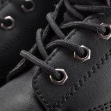 Zapatos de seguridad del corte del centro con el acoplamiento respirable M-8149 del aire del emparedado
