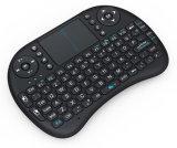 Drahtlose Tastatur der Berührungsflächen-I8 Mini2.4ghz mit Maus für PC, Auflage, xBox 360, PS3, Google androider Fernsehapparat-Kasten, HTPC, IPTV (Schwarzes)
